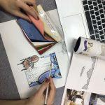 Разработка дизайна для печати, вышивки